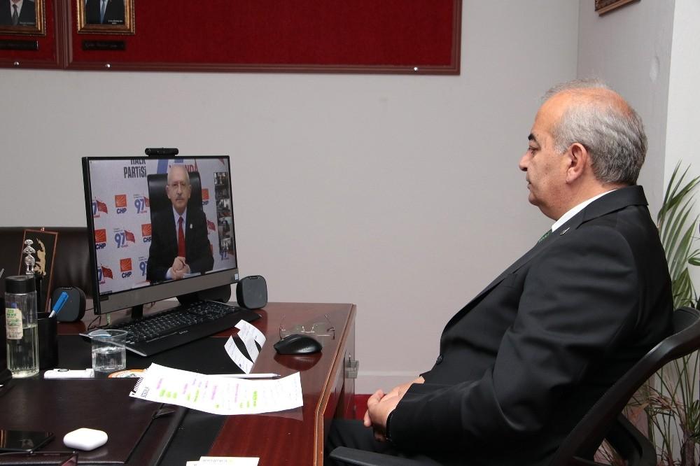 Başkan Bozkurt Kılıçdaroğlu ile görüştü