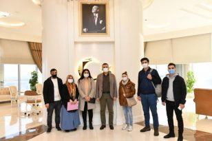 Başkan Bozkurt'tan SMA hastası bebeklere destek