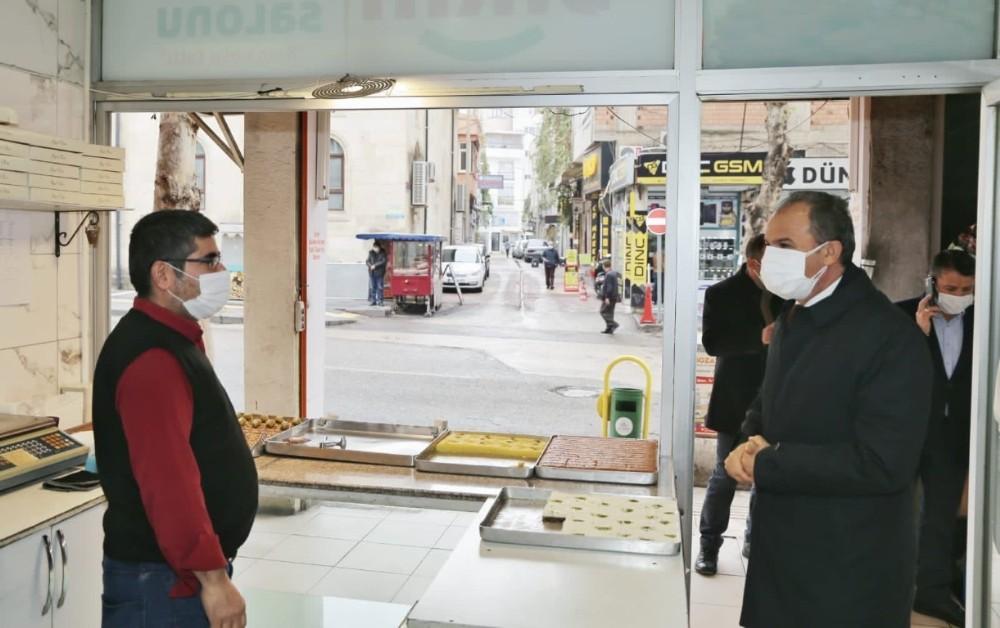 Başkan Kılınç, Atatürk Caddesi Esnafını Ziyaret Etti