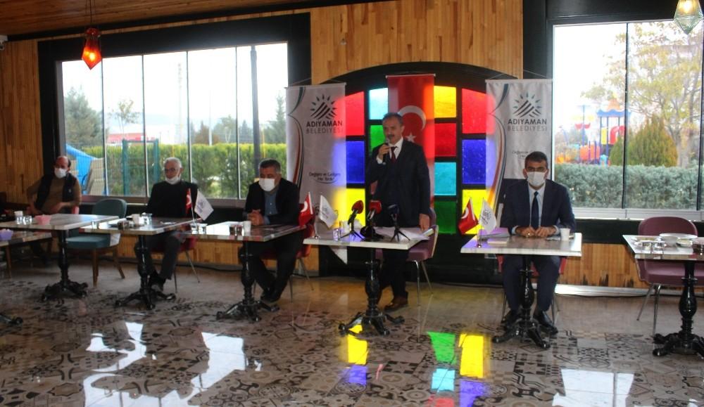 Başkan Kılınç, basın mensuplarıyla bir araya geldi