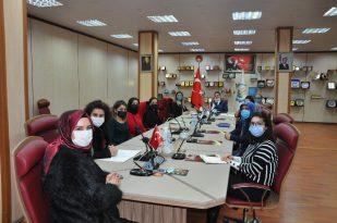 Başkan Oral 'dan Erzurum Kadın Kooperatifi'ne tam destek