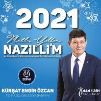 Başkan Özcan'ın yeni yıl mesajı