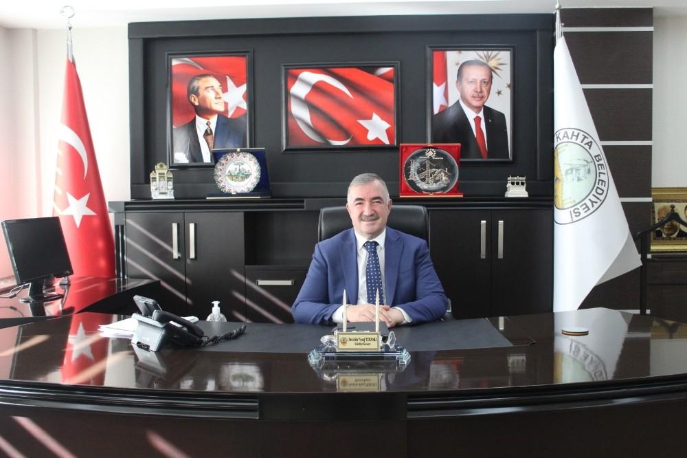 Başkan Turanlı'dan teşekkür mesajı
