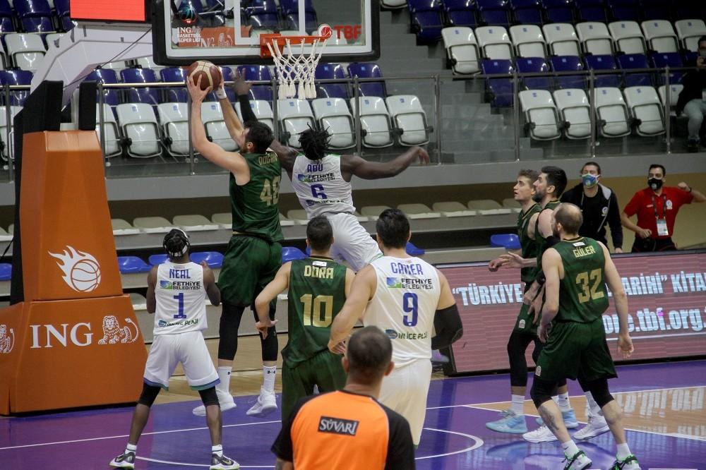 Basketbol Süper Ligi: Lokman Hekim Fethiye Belediyespor: 54 – Darüşşafaka Tekfen: 78
