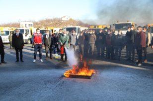 Battalgazi Belediyesi'nden personeline yangın tatbikatı