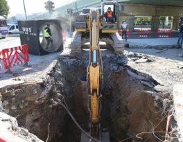 Bayrampaşa'daki su baskınlarına kalıcı çözüm