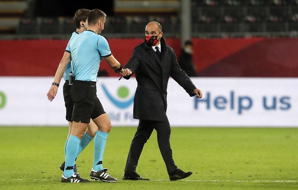 Belçika milli takım teknik direktöründen hakemlere sert tepki