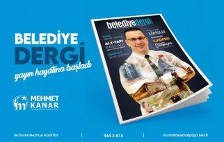 Belediye Dergi yayın hayatına başladı