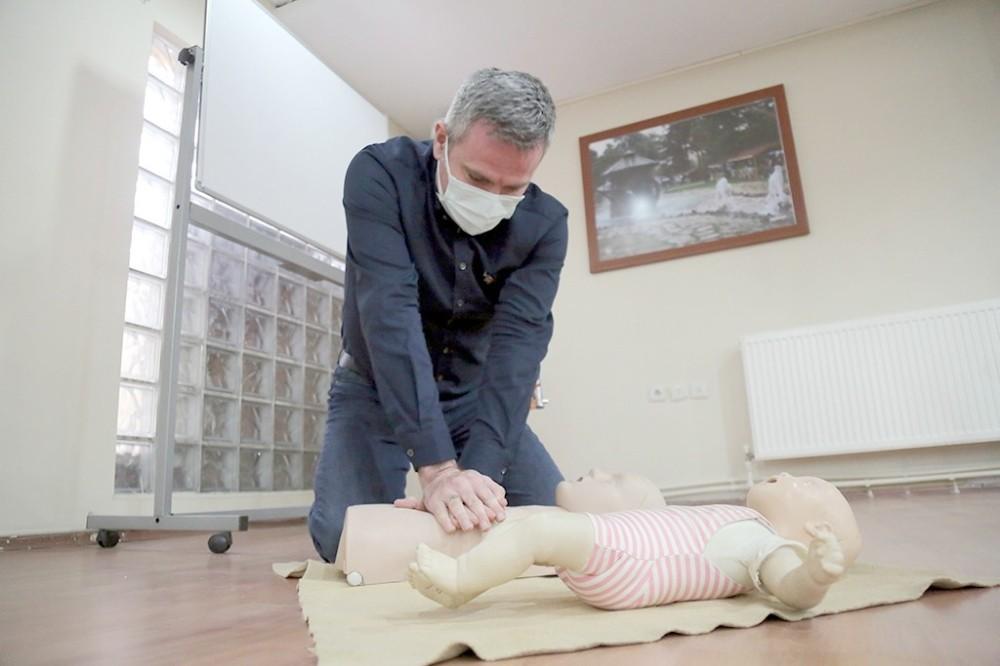 Sivas Belediyesinde İlk Yardım Eğitimi