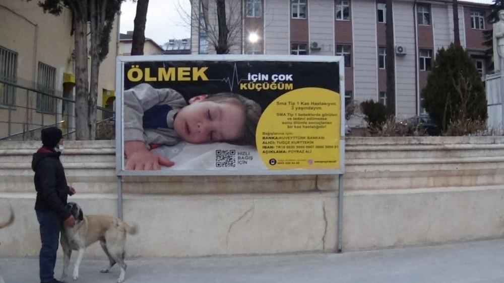 Billboardlar, Poyraz Ali için donatıldı