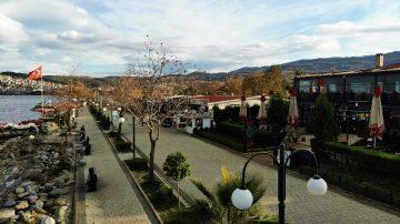 Bin bir güzelliği içinde barındıran Sapanca havadan görüntülendi