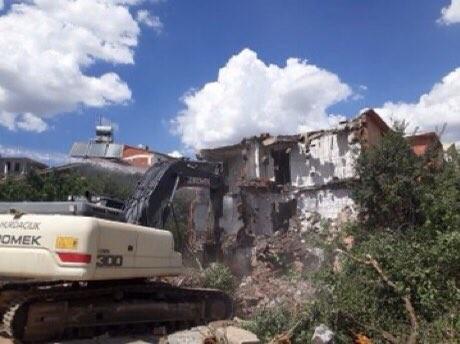 Bingöl'de 126 kaçak yapı yıkıldı, 130 bin TL ceza kesildi