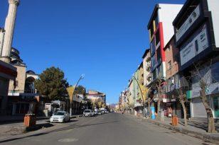 Bingöl'de sokağa çıkma kısıtlaması sessizliği