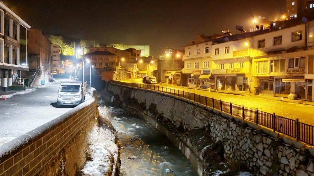 Bitlis'te yeni yıl ve hafta sonu kısıtlaması başladı