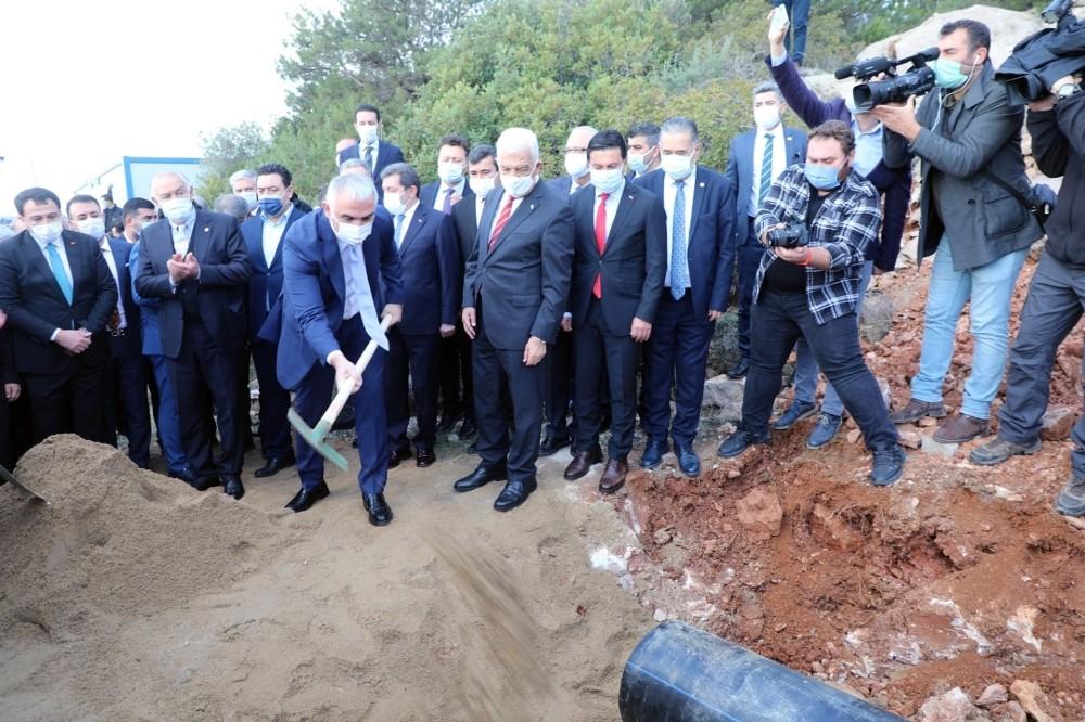 Bodrum'un altyapı ve kanalizasyonuna 250 milyon TL'lik yatırım