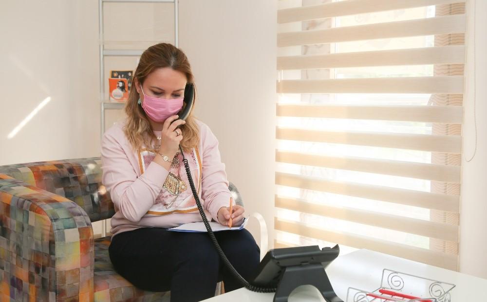 Buca'da virüs kaygısına karşı psikososyal destek hattı