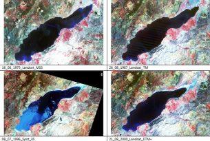 Burdur Gölü'nün su seviyesi son 50 yılda 17 metre düştü
