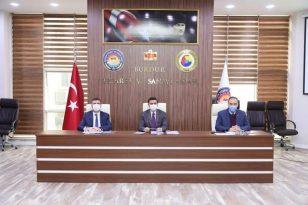 Burdur'da Müteşebbis Heyeti Toplantısı Yapıldı