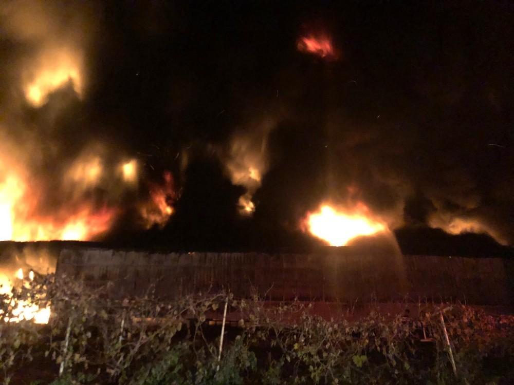 Bursa'daki yangında 5 milyonluk hasar medyana geldi