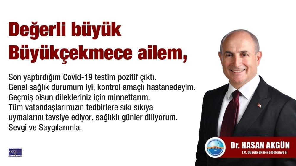 Büyükçekmece Belediye Başkanı korona virüse yakalandı