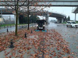 Kocaeli'nde Yağmura Karşı Tüm Ekipler Sahada