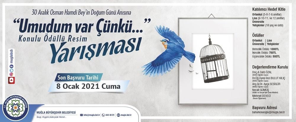 Büyükşehir'den Osman Hamdi Bey anısına ödüllü resim yarışması