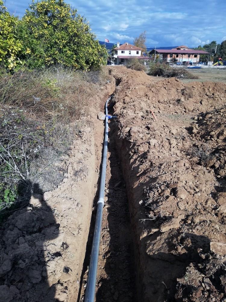 Büyükşehirden Ula'ya Yeni İçme Suyu Hattı