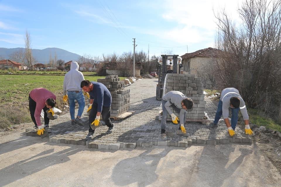 Çameli'de üst yapı çalışmaları devam ediyor