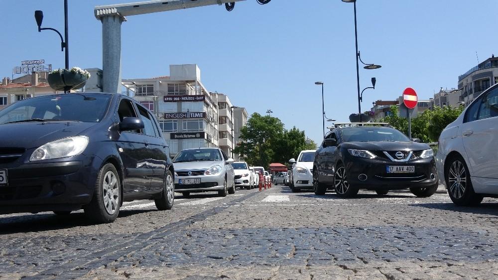 Çanakkale'de trafiğe kayıtlı araç sayısı 239 bin 122 oldu