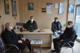 Çaylı'dan Yenice'nin Sesi Gazetesine ziyaret