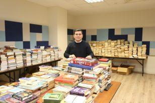 Cemil Meriç Kitaplığı'na 3 ayda 36 bin kitap bağışlandı