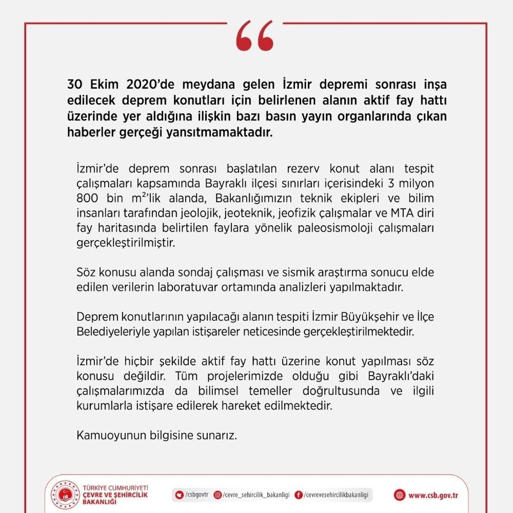 İzmir'de Aktif Fay Hatları Üzerine Konut Yapılmayacak