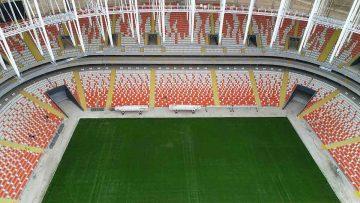 Yeni Adana Stadyumu'nda Koltuk Montajı Yapıldı