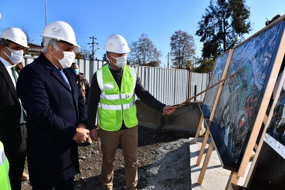 Trabzon Çömlekçi Kentsel Dönüşüm Projesi'nin 1.Etap Çalışmaları Sürüyor