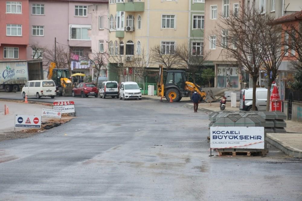 Darıca Cengiz Topel Caddesi'nde sona yaklaşılıyor