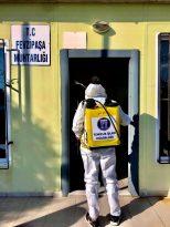 Didim'de muhtarlıklar dezenfekte edildi