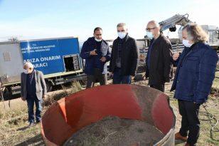 Diyarbakır'a su ileten çelik boru yırtıldı, DİSKİ'nin zamanında müdahalesiyle kentte su sorunu yaşanmadı