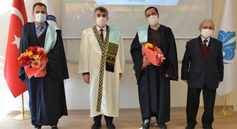 DPÜ İslami İlimler Fakültesi'nde Akademik Yükseltme Töreni