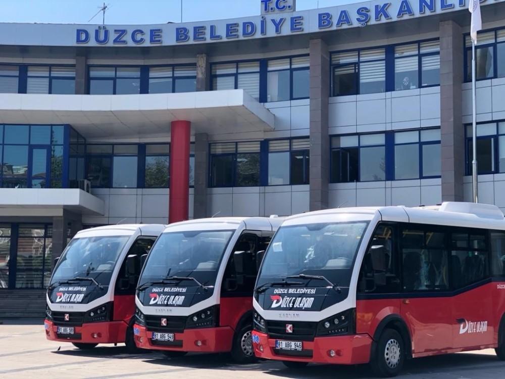 Düzce'de otobüs seferlerine yeni düzenleme