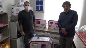 Edirne'de Türk mühendisler pandemide milli ve yerli solunum cihazı üretti