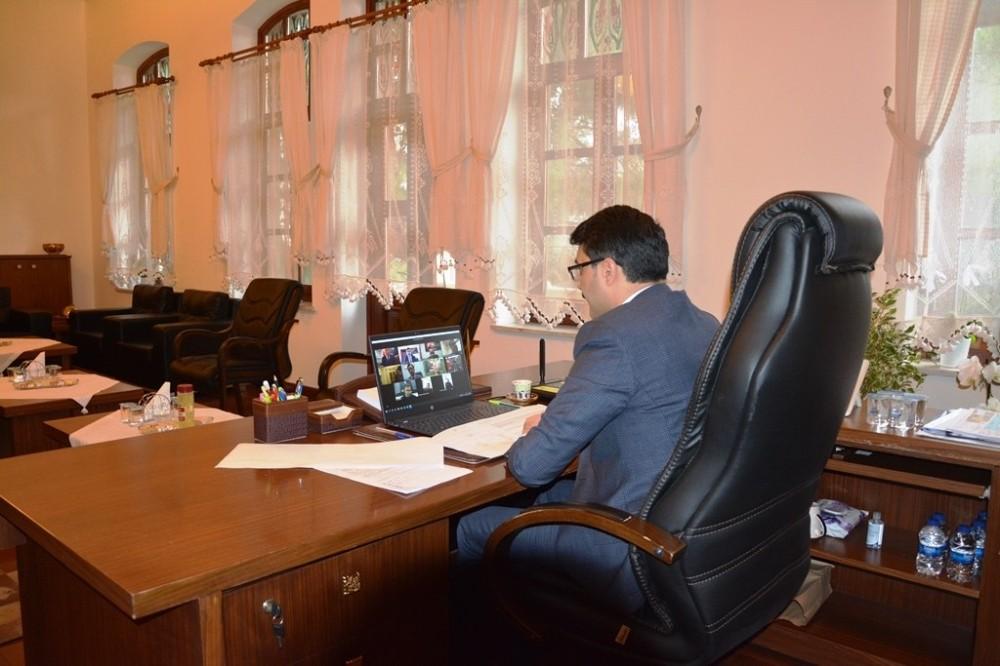 Edremit'te Kaymakam Ünsal başkanlığında Edremit Platformu Ortak İstişare Ve Koordinasyon Toplantısı yapıldı