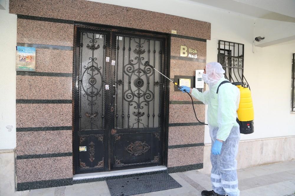 Efeler Belediyesi Kasım ayında bin binayı dezenfekte etti