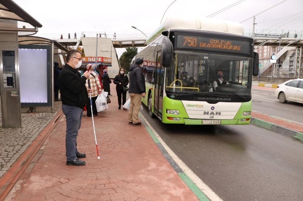 Engelsiz ulaşım asistanı ile ulaşımda engel kalkıyor