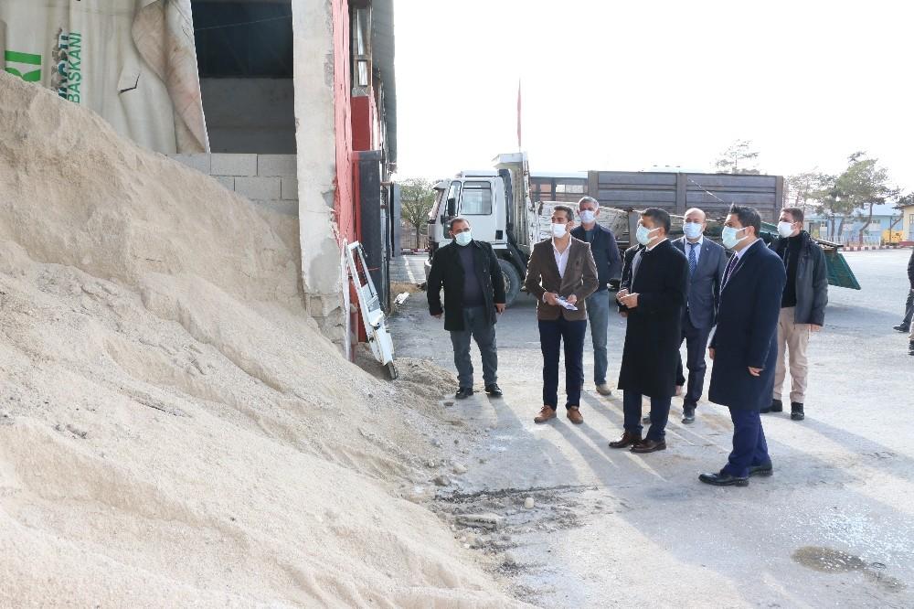 Erciş Belediyesi kış hazırlıklarını tamamladı