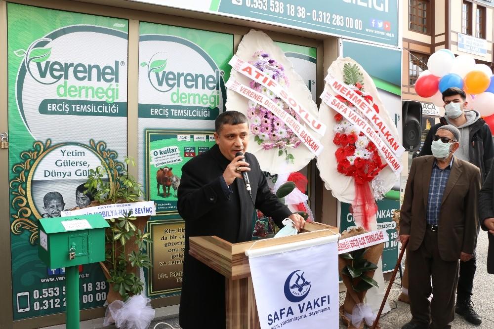 Erciş'te 'Sosyal Market' açılışı