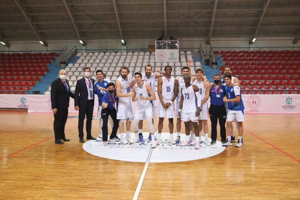 Erkekler Basketbol 1. Ligi: Kocaeli Büyükşehir Belediyesi Kağıtspor: 83 – Sigortam.Net:80