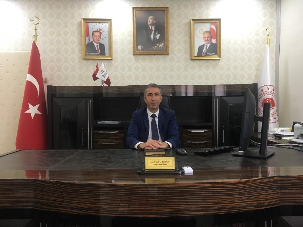 Erzincan Çevre ve Şehircilik İl Müdürlüğüne Selçuk Aydın asaleten atandı