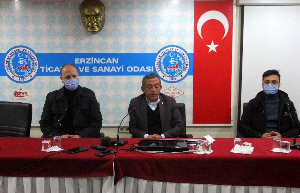 """Erzincan TSO Başkanı Tanoğlu: """"Yerel esnafa sahip çık"""""""