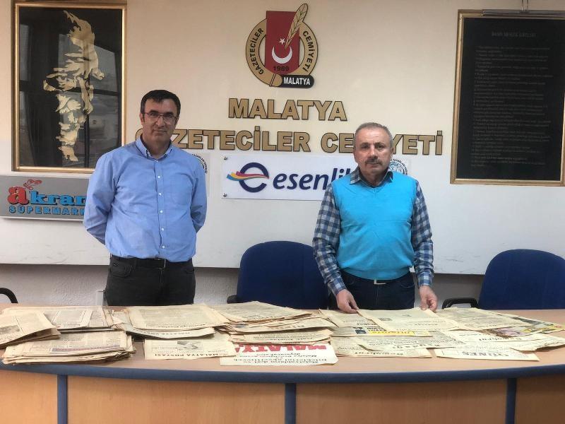 Eski başkanın arşivi Malatya'nın 20 yılına ışık tutacak