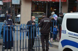 Fatsa'da işlek caddelerde HES kodu uygulaması